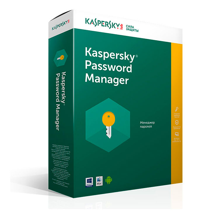 Купить Kaspersky Password Manager